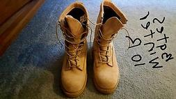 Army winter boots.
