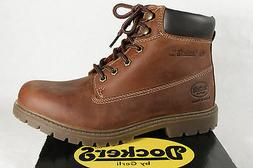 Dockers Boots Lace up Boots Winter Boots Braun Leather New