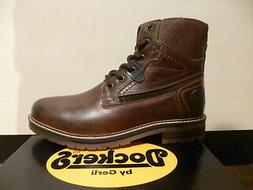 Dockers Boots Lace up Boots Winter Boots Braun Leather 45PU0