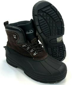 Clarks Crewson Edge Thermolite Insulated Leather Winter Snow