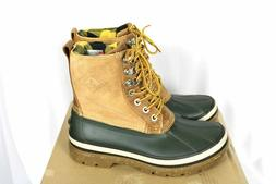 Sperry Ice Bay Tall Pac Winter Boots Olive/Tan 200 Gram Mens