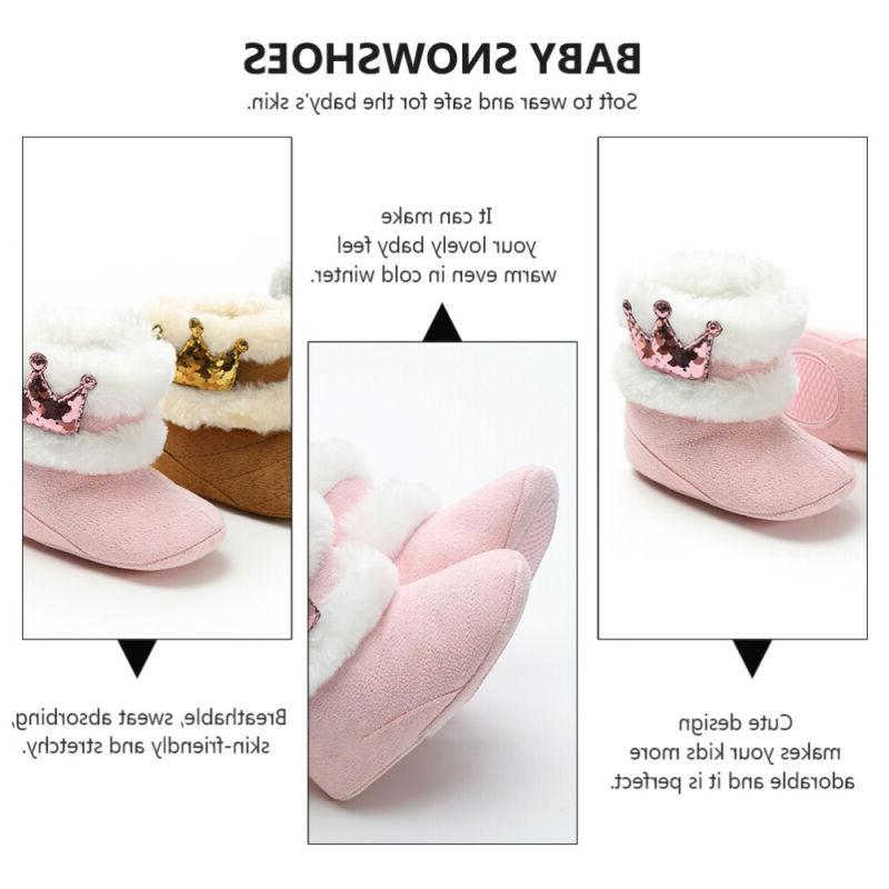 1Pair Adorable Plush Soft Boots Warm Tall Boots
