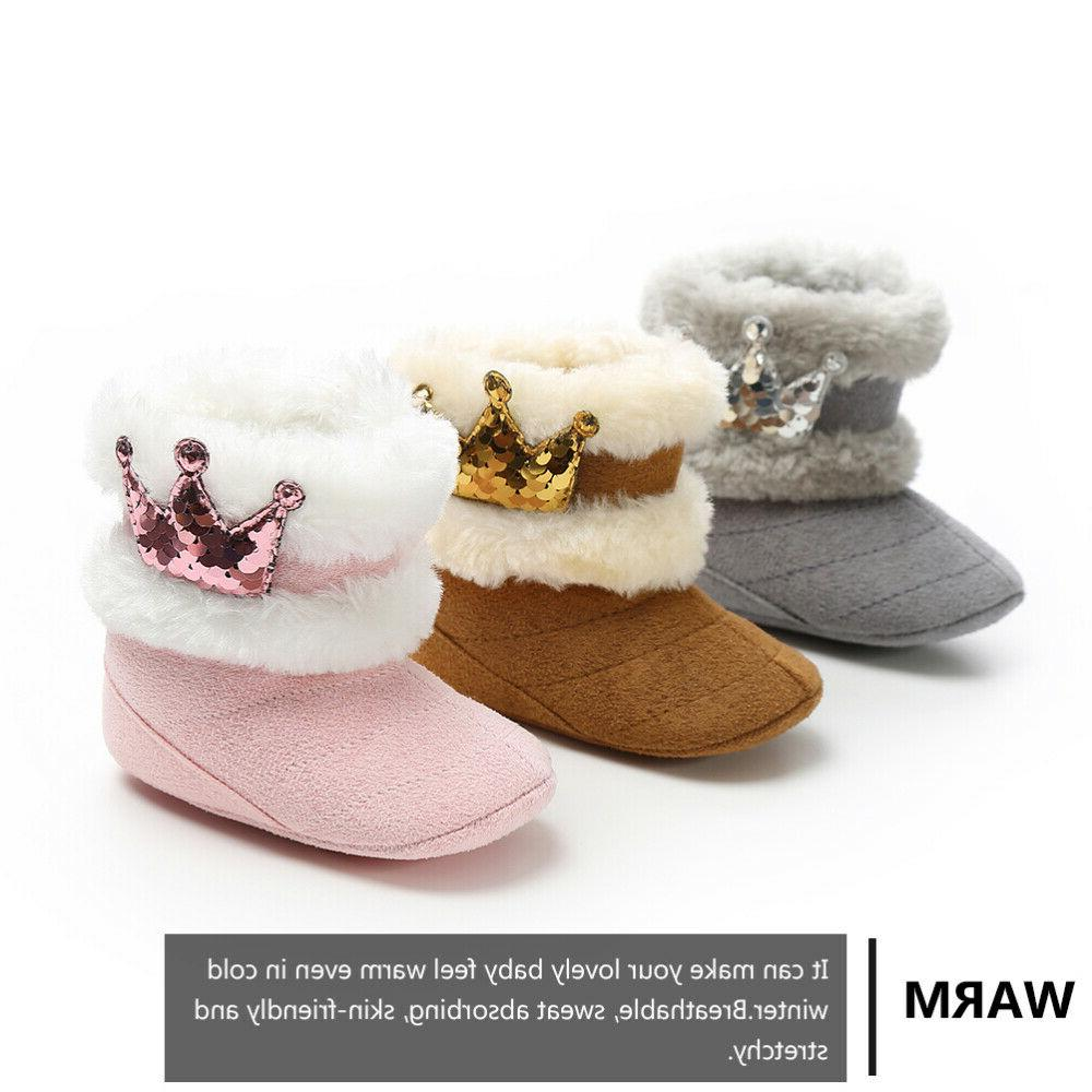 1Pair Snow Plush Boots for Baby