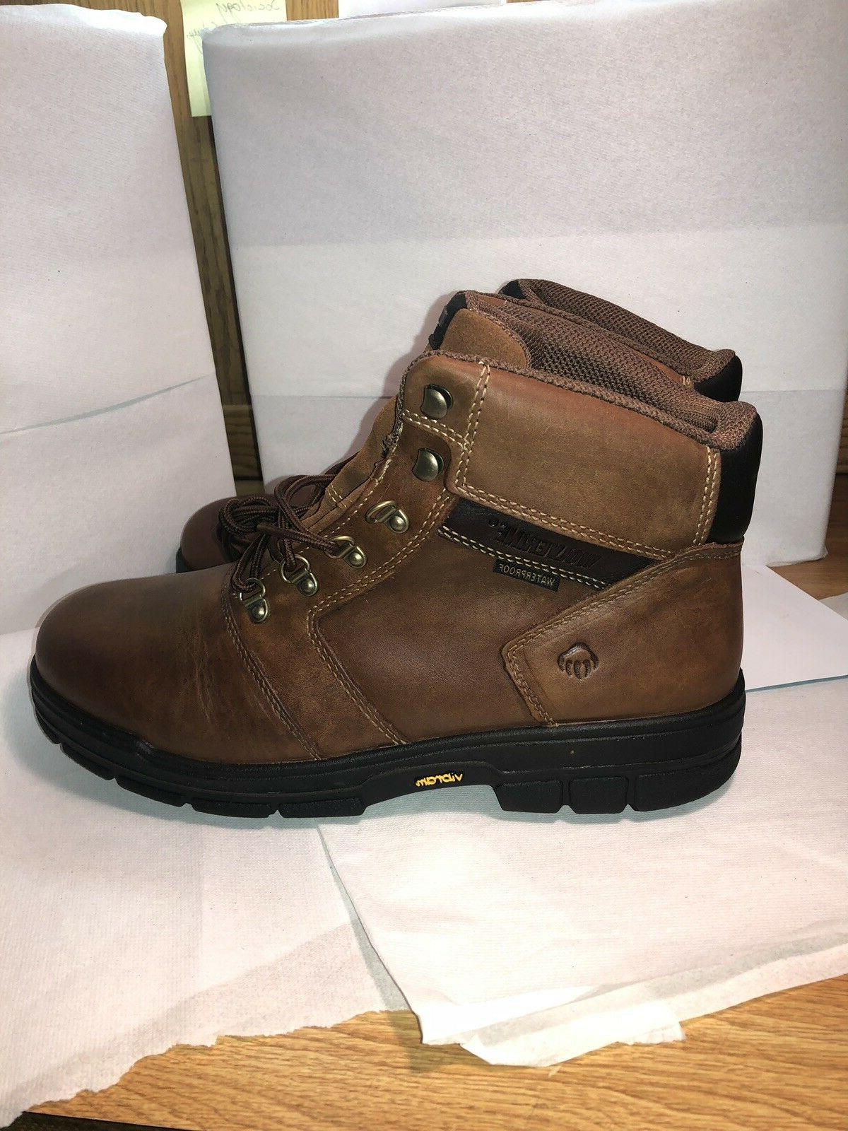 "Wolverine Barkely 6"" Men's Brown Size"