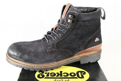 boots lace up boots winter boots blue