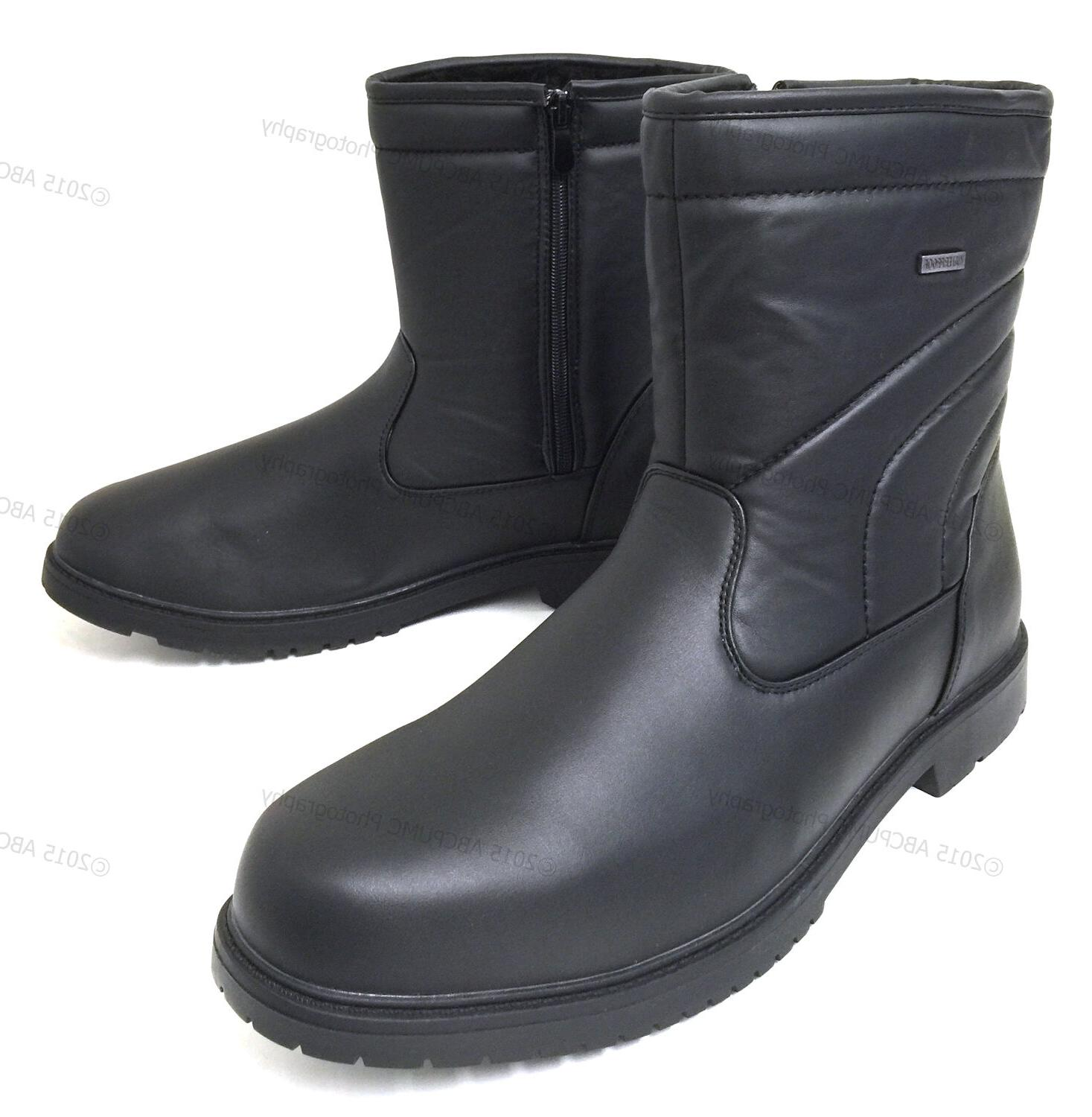 brand new men s winter boots leather