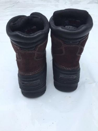 Clarks Collection Mens Vibe Snow waterproof insulated