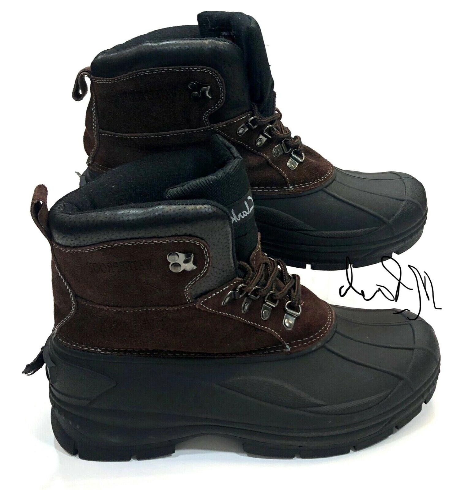 Clarks Edge Insulated Winter Boots Mens Size 12