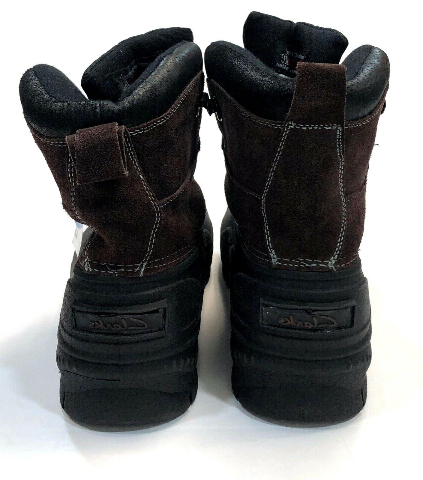 Clarks Crewson Edge Insulated Winter Snow Boots Mens