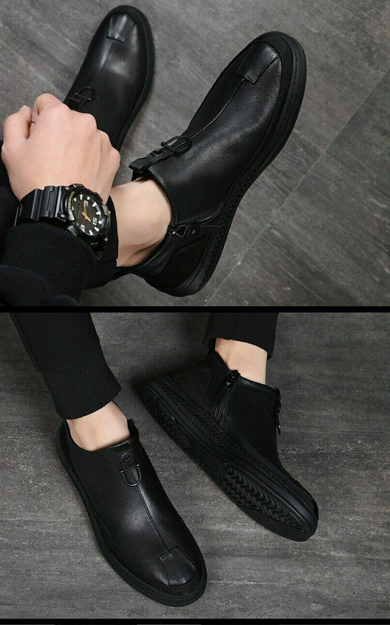 Fashion Ankle Round Chelsea Shoes