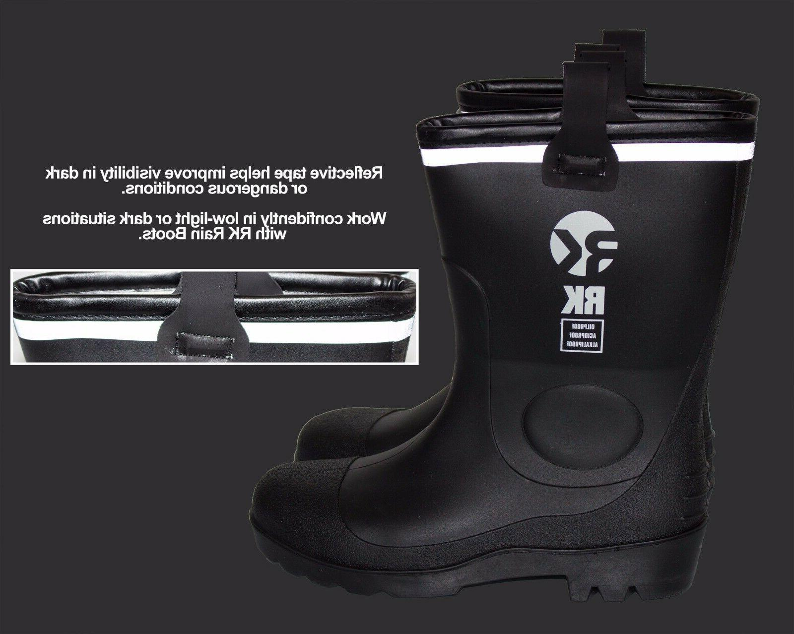 Insulated Rubber Sole Cold Boots