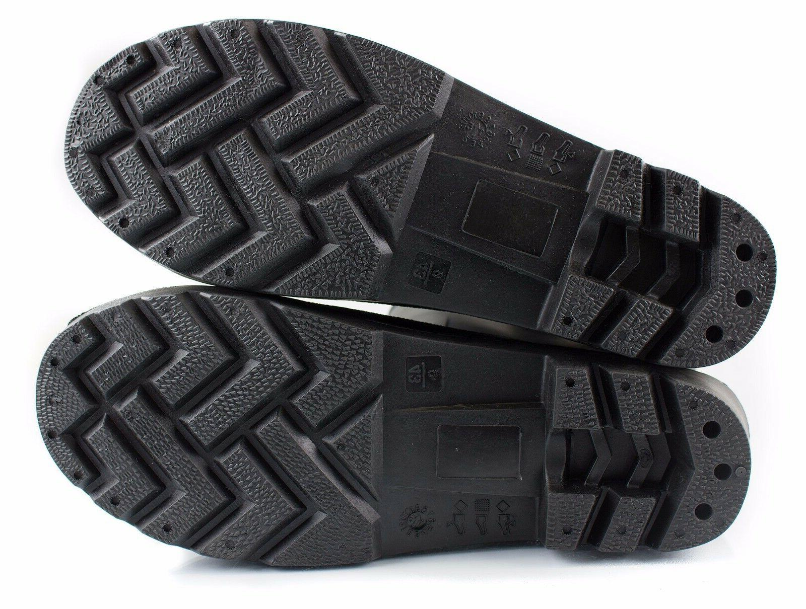 Insulated Interior Rubber Cold Boots