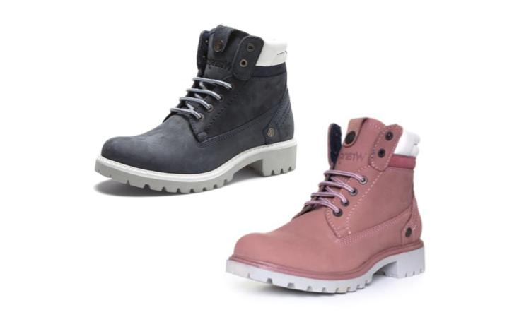 ladies creek lace up boots in winter