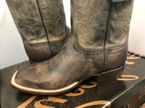LUCCHESE ANTIQUE WINTER GOAT 12EE