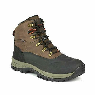 men s insulated waterproof construction hiking boots