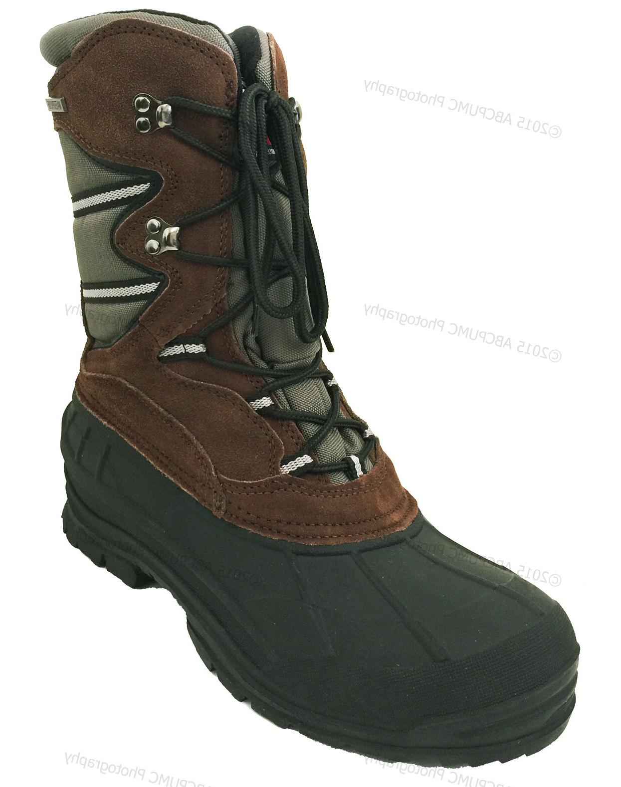Men's Leather Waterproof Thinsulate Hunting