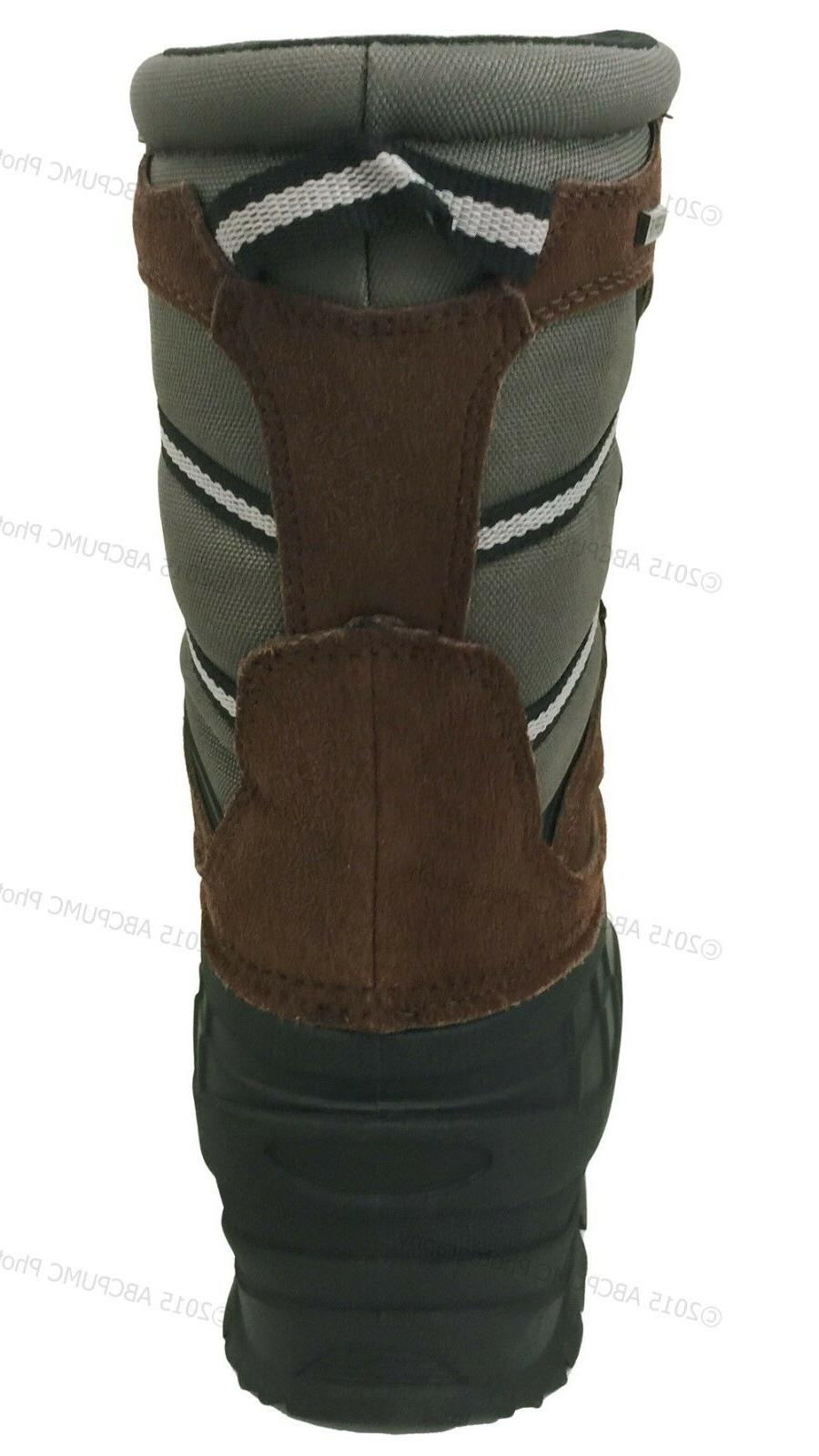 Men's Winter Leather Waterproof Thinsulate Hunting