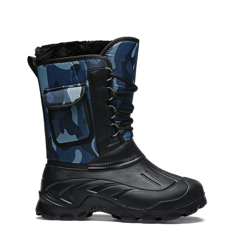 Men's Camouflage Waterproof Insulated Hiking
