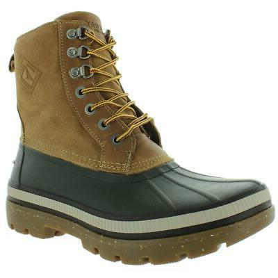 mens ice bay brown insulated winter boots
