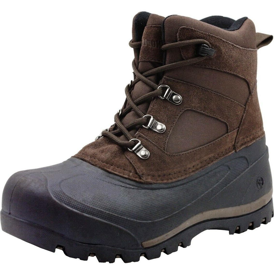 mens snow boots tundra cold weather boots