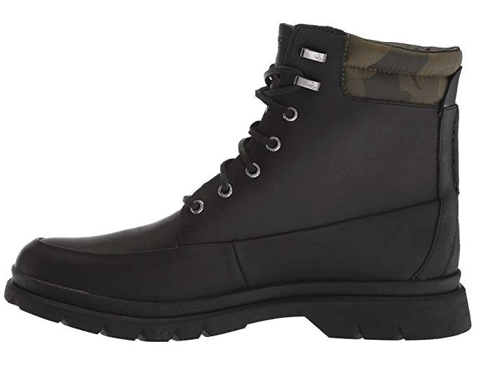Mens Sperry Watertown inches Winter Boots Black