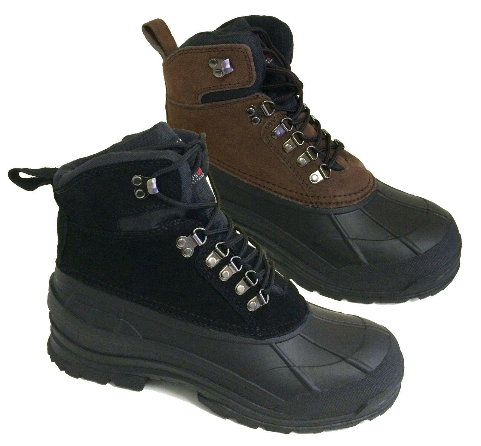 new men s winter boots leather warm