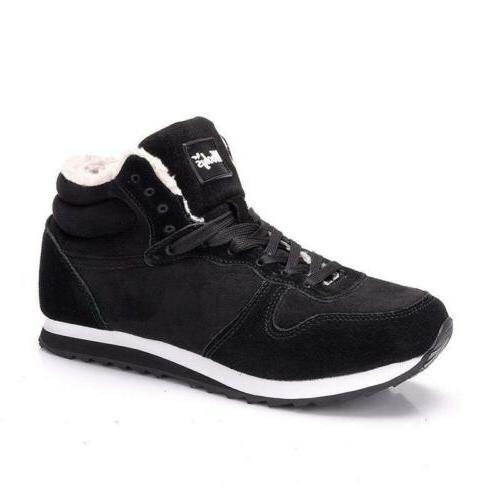 New Plush Winter Snow Outdoor Shoes Warm Sneakers