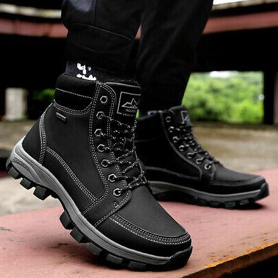 New US Work Boots Lined Waterproof