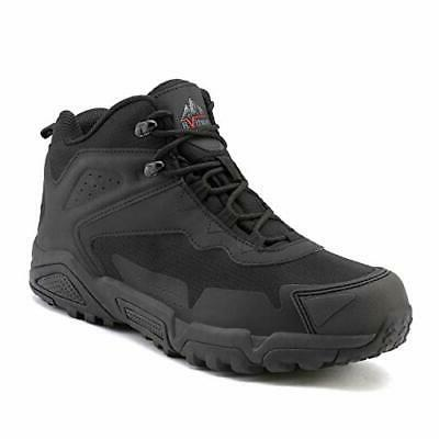 NORTIV 8 Mens Mid Waterproof Winter Warm Outdoor Hiking Boot