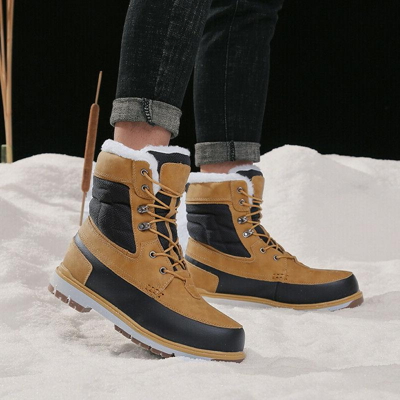Lined Winter Cargo Color Shoes