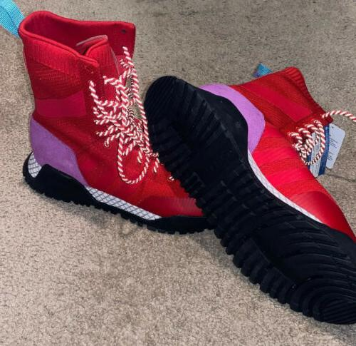 Red Boots Winter Style Mens