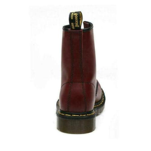 Retro Men's Womens Leather Riding Boots Winter Up Shoes