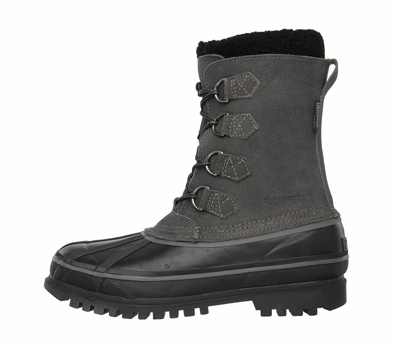 Skechers Revine Mens Suede Winter Thinsulate Lined