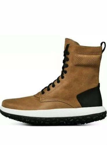 Under Sherpa Brown Leather Tire Boot 7