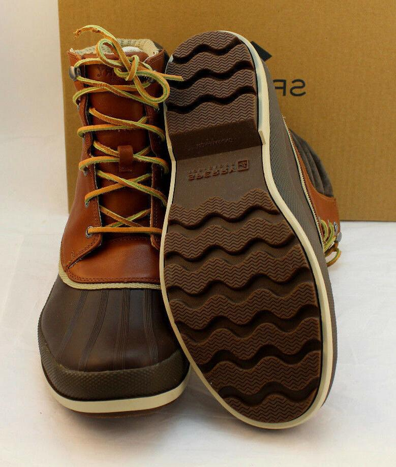 Sperry Size Leather Retail $179