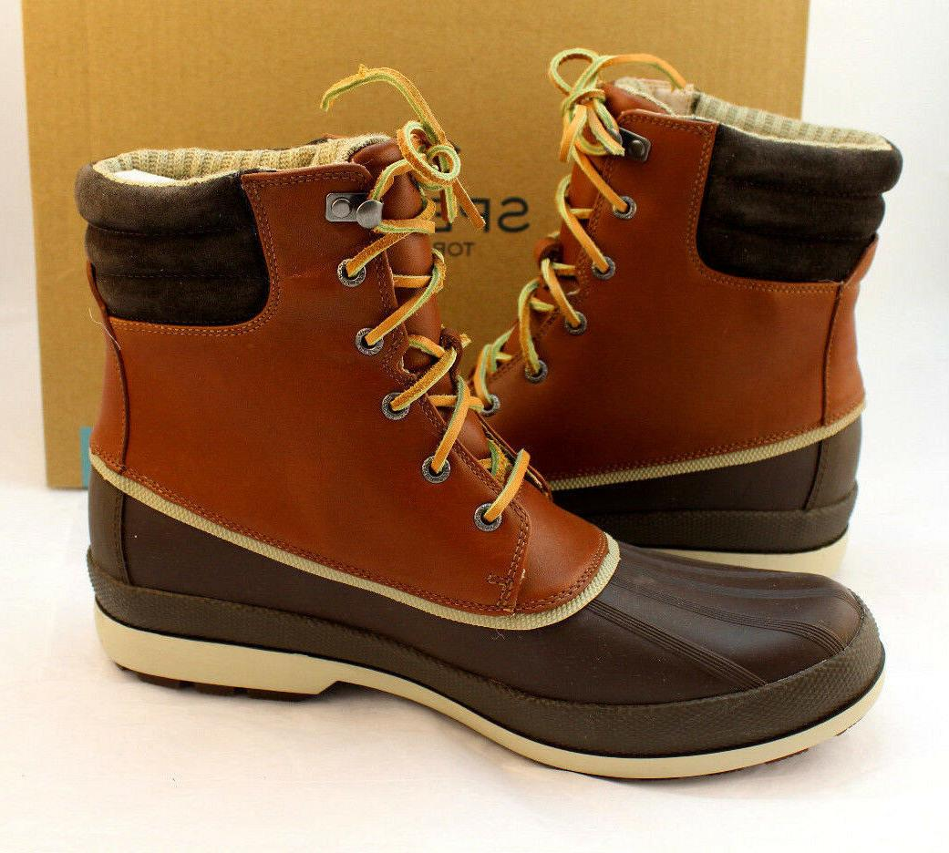 Sperry Cold Bay Size M Leather Winter Retail $179