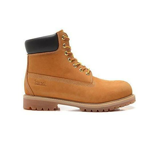 Water Resistant Snow Boots Mens Genuine Leather Lace