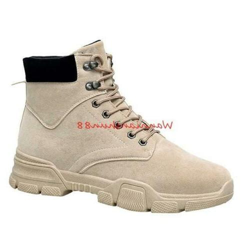 Lace High Work Boots Casual