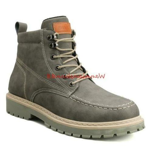 Winter Mens Lace up Army Casual