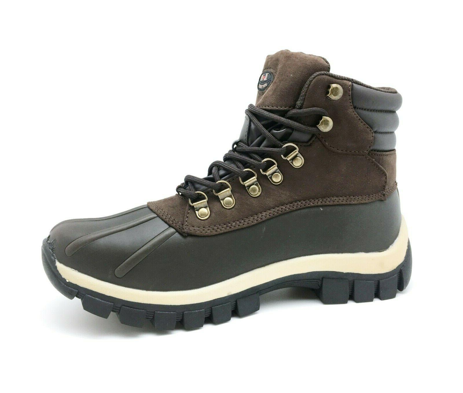 LM Snow Boots Genuine Leather Waterproof
