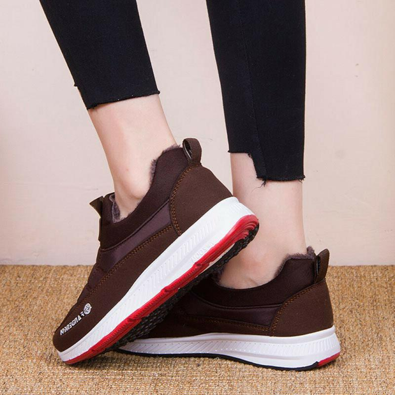 Women's Men's Casual Keep Warm Boots Shoes