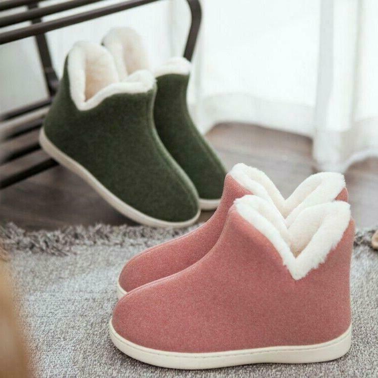 Womens Slippers Warm Pull