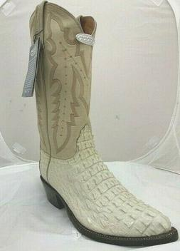 MEN'S LUCCHESE 2000 WESTERN BOOTS T3048 T5 WINTER WHITE NILE
