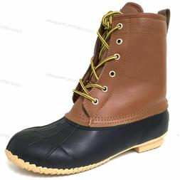 Brand New Mens Boots Leather Insulated Waterproof 5-Eyelet S