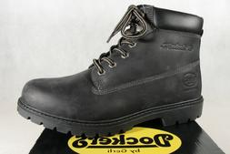 Dockers Men's Boots Winter Boots Black Real Leather New
