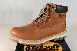 Dockers Men's Boots Winter Boots Brown Leather 43LU001 New