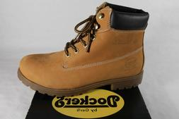 Dockers Men's Boots Winter Boots Yellow Goldentan Leather 35