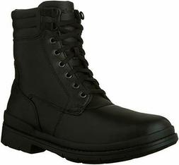 Clarks Men's Kimball Rise Black Leather High Top Winter Boot