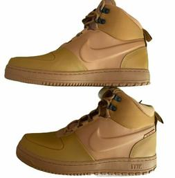 Nike Men's Path Winter Life Style Shoes Boots Wheat Size 10