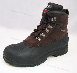 """Brand New Men's Winter Boots Leather 6"""" Insulated Waterproof"""